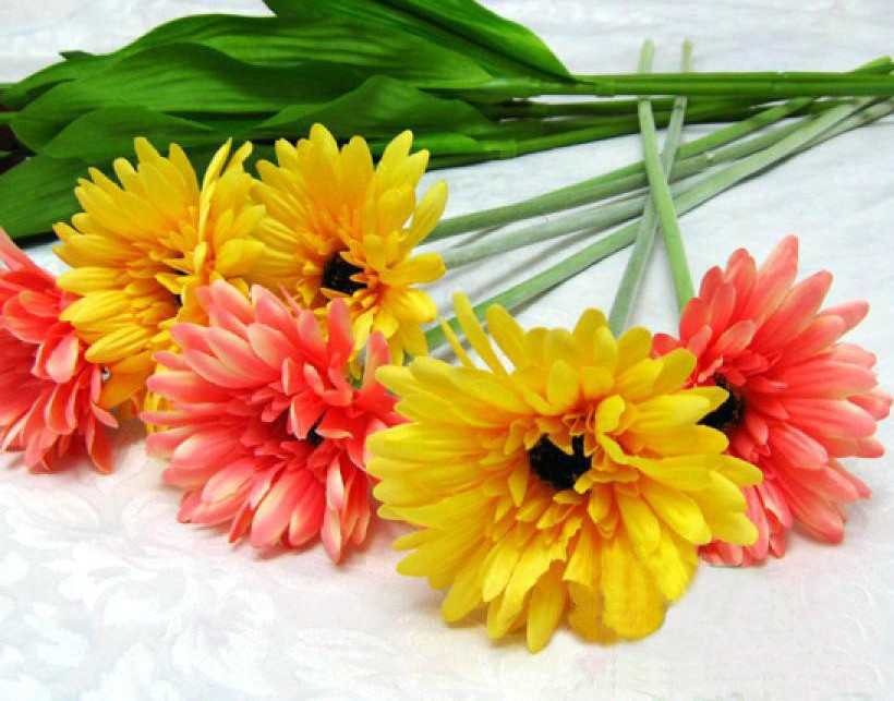 广州最大的仿真花家居饰品批发市场